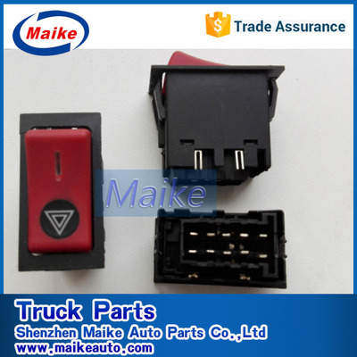 MAN Hazard warning switch 81255056291